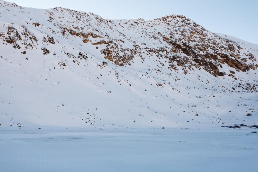 Frozen Pass Lake