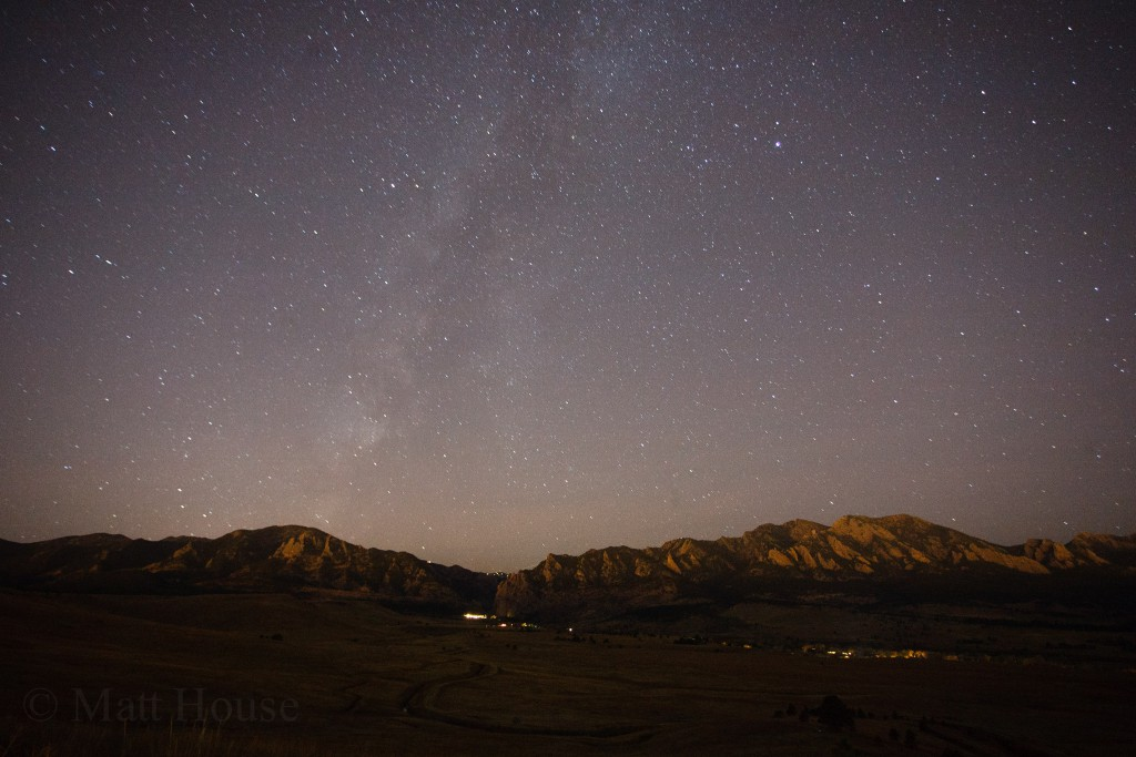 Milky Way over Eldorado Canyon