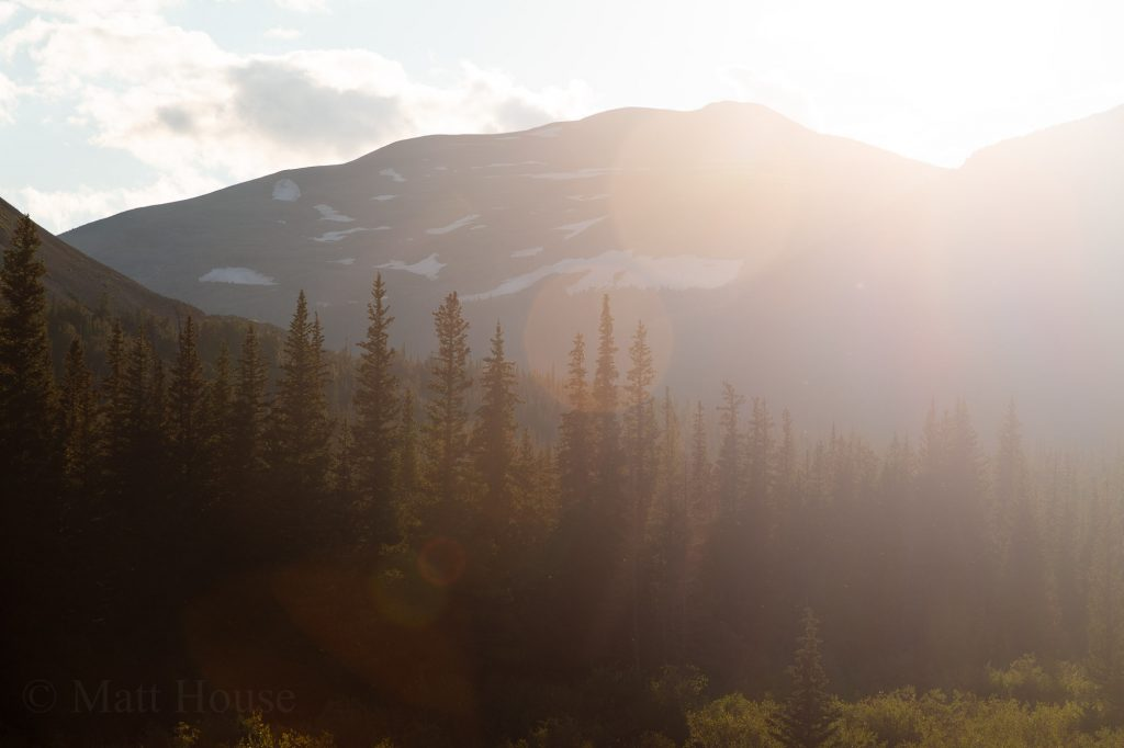Afternoon Light over the moutains
