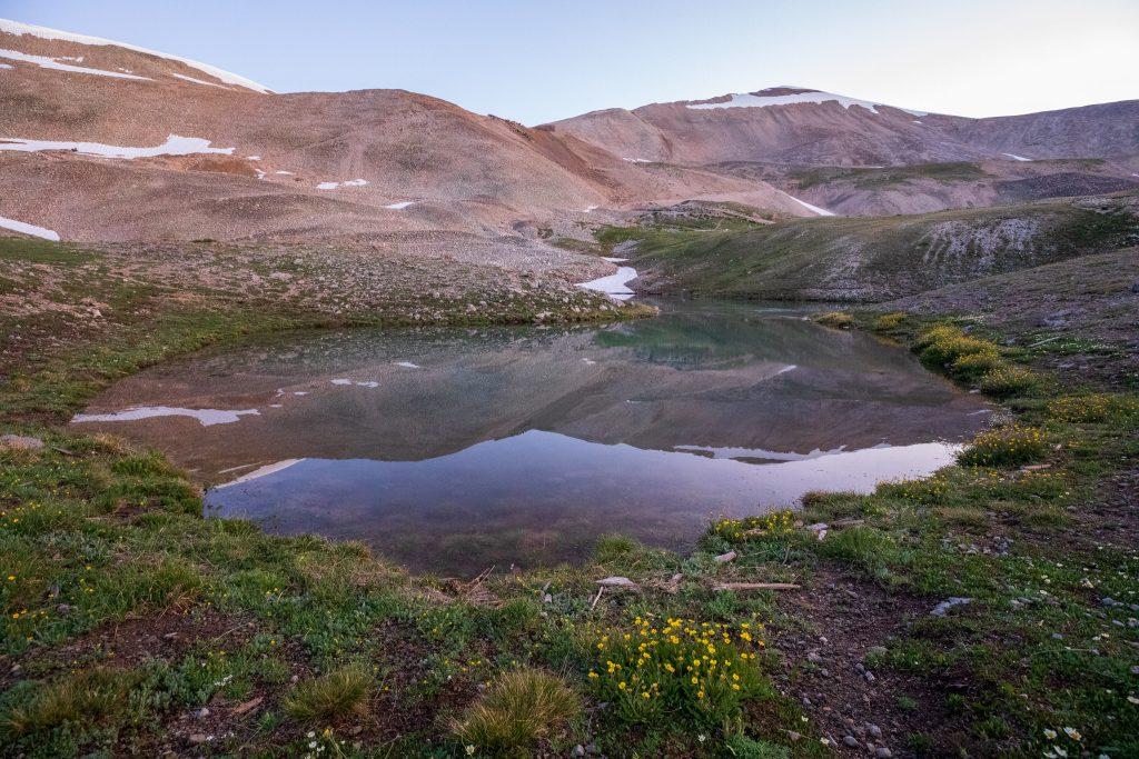 Mt. Sherman reflection