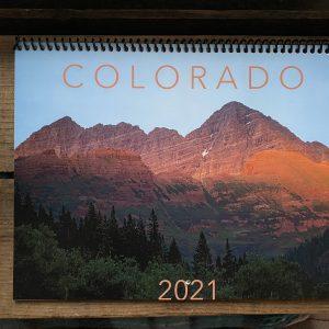 2021 Calendar Front